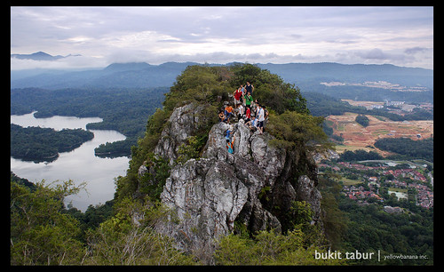 Bukit Tabur Divides Nature and City