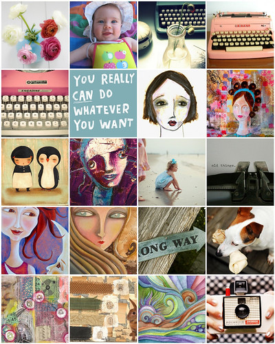 Inspiration Mosaic - August (#2) 2009 (Copyright Hanna Andersson)