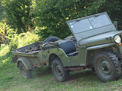 jeep with the trailer (stefho74) Tags: jeep mb willys jeepwillys jeepmb willysmbjeep