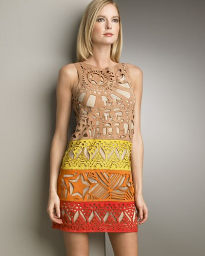 Laser cut dress Emilio Pucci 2