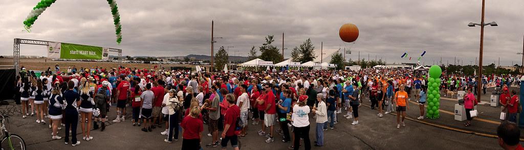 Over 6,000 Walkers/Runners