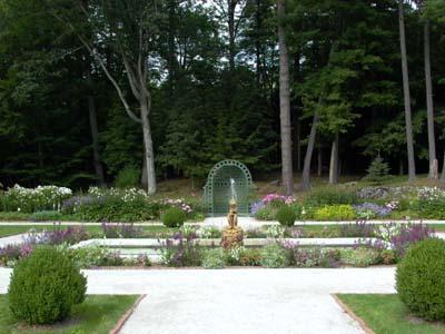 17th C style garden