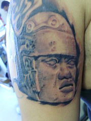 Sam Martin Tattoo (sam12778) Tags: sammartin blackandgreytattoo aztectattoo sammartintattoo