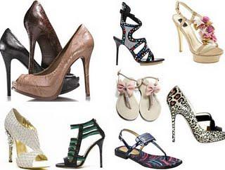 fotos calçados verão 2010