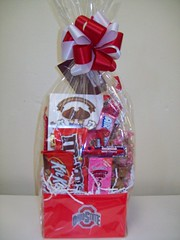 OSU (Candy Bouquet) Tags: school colors candy gift bouquet