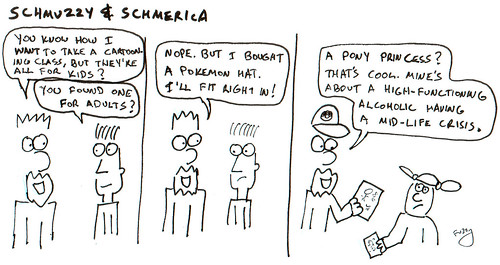 366 Cartoons - 235 - Schmuzzy and Schmerica