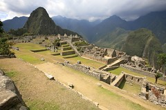 The ruins of Machu Picchu (Alex E. Proimos) Tags: trip sun mountains peru machu picchu inca clouds train plane ruins cost ticket tourist trail entry visualart blueribbonwinner topshots bej mywinners abigfave worldbest platinumphoto anawesomeshot impressedbeauty flickrdiamond ysplix theunforgettablepictures theunforgettablepicture goldstaraward natureselegantshots thenewacademy artofimages proimos alexproimos