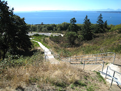 Hill climb stairs at Richmond Beach