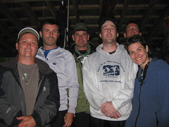 Vince, John, Dave, Kevin, George and me