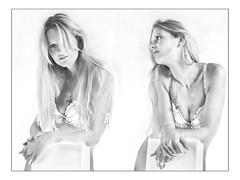 Double Feature (guenterleitenbauer) Tags: ladies girls light red bw hot sexy rot girl beauty fashion hippies lady studio licht photo yahoo google high model glamour kiss key flickr foto image photos flash hell kisses babe images lingerie double lips dreaming fotos hippie 5d sw highkey isabella bild temptation blitz beauties weiss 2009 modell dessous isa oberösterreich bilder feature mund kuss günter heis flashes lippen heiss wels küssen жена weis küsse blitze verführung wildkatze guenter leitenbauer wwwleitenbauernet