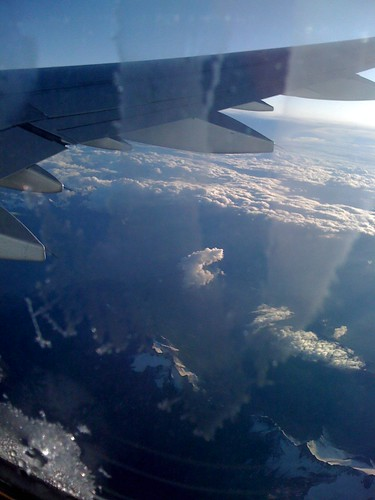 The view from the plane