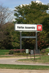 gm fairfax assembly (flee the cities) Tags: plant cars industry sign logo marquee gm factory kansascity kansas trucks automobiles assembly generalmotors manufacturing uaw autoindustry unitedautoworkers fairfaxassembly