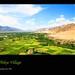 Thikse Village, Ladakh, Jammu & Kashmir, India - 21.08.09