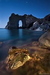 Arco Cala Flores (Popewan) Tags: longexposure nightshot nocturnas lamanga cartagena cabodepalos largaexposicion popewan calaflores