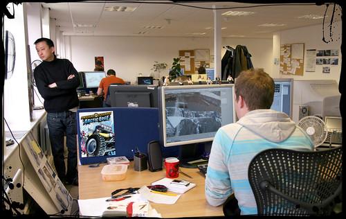 Motorstorm Arctic Edge The Team Behind The Game Speak - Video game designer working conditions