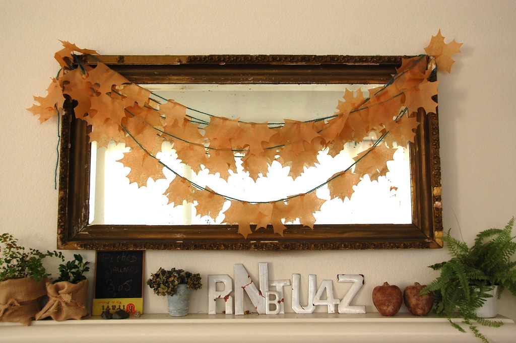our fall mantle