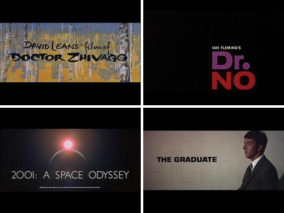 Movie Title Stills