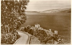 Loch Ness Above Castle Urquhart