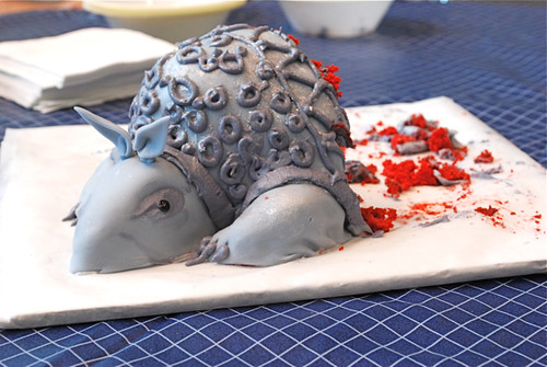 Armadillo Cake by Lizzy House