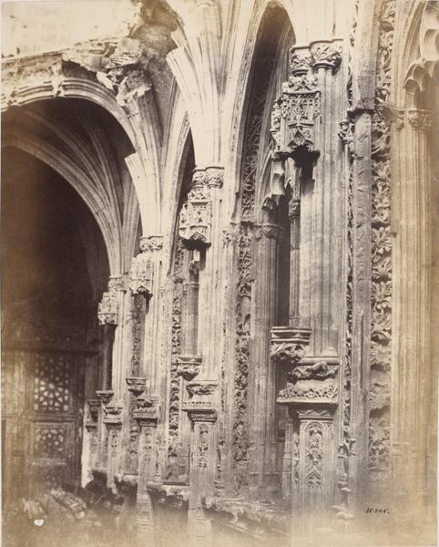 San Juan de los Reyes en 1853.Fotografía de Charles Clifford. © Victoria and Albert Museum, London