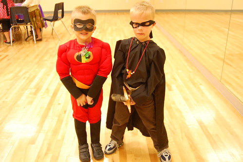 Mr. Incredible and Zorro