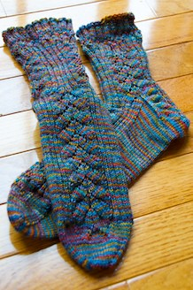 October Mystery Socks