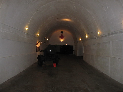 Jersey War Tunnels: Entrance tunnel