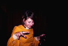 groove (Vasilisa Forbes) Tags: old orange colour film dark jazz groove cinematic sixties