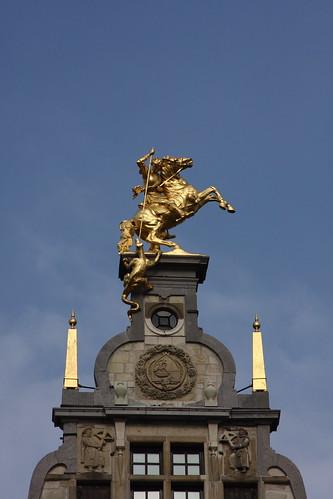 Grote Markt, detail. Antwerp