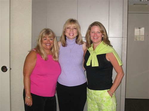 with Jill Marie Landis and Teresa Medeiros