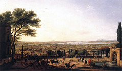 Vernet, Claude Joseph (1714-1789) - 1756 The Town and Harbor of Toulon (Louvre, Paris) (RasMarley) Tags: horses animals french landscape cityscape louvre group painter 18thcentury 1756 vernet 1750s claudejosephvernet thetownandharboroftoulon