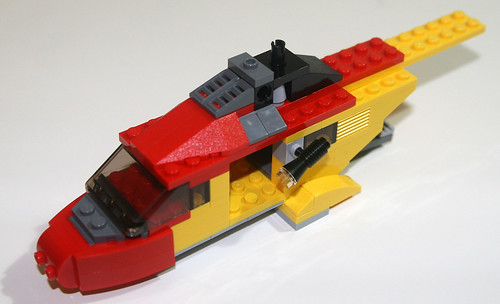 2010 LEGO Creator 5866 Rotor Rescue - Assembly