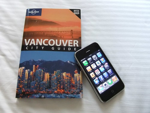 In Vancouver with the iPhone