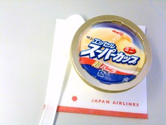 Meiji ice-cream, JAL 721