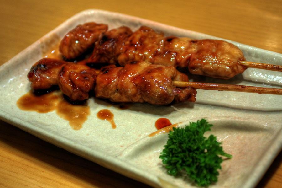 Sushi Zanmai Chicken Yakitori (HDR)