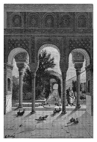 022-El Generalife en Sevilla-Spain (1881)- Doré Gustave