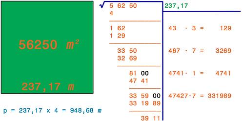 Radice quadrata 9