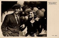 Gustav Frhlich & Annabella (Truus, Bob & Jan too!) Tags: cinema france film vintage germany french star austria 1930s postcard german sound actress movies actor sonnenstrahl austrian annabella gustavfrhlich gustavfrohlich paulfejos