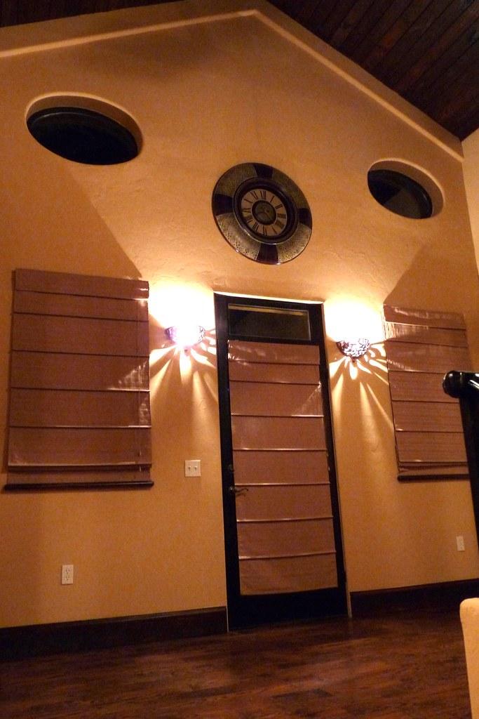 Sconced Lighting in Loft