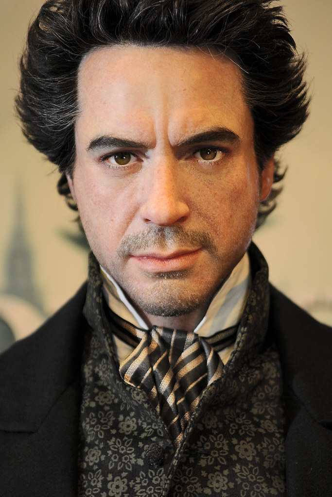 Thumb Robert Downey Jr. as Sherlock Holmes at Madame Tussauds Wax Museum