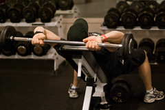Pumping Iron for You (BozDoz) Tags: sports magazine psp athletic muscle games health strength recreation fitness sporting tone weights dnd lifting workingout vitality stadacona weightroom liftingweights marlant vitalit