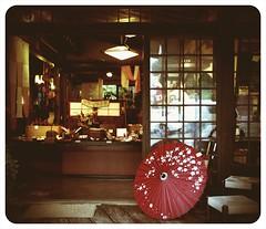 Takayama Parasol 1974 (Darcy Conroy) Tags: 1974 helga camerabag