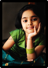 Mesmerized (bhagath makka) Tags: seattle lighting cute girl smile happy kid eyes nikon dress indian traditional feel ethnic makka mesmerized d300 colourfull smara bhagath sb00 sniktha bhagathkumar makkaphotography
