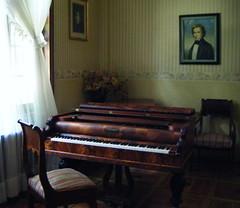Chopin's piano, Radziwell Palace, Antonin-1 (EuCAN Community Interest Company) Tags: poland 2009 eucan milicz baryczvalley