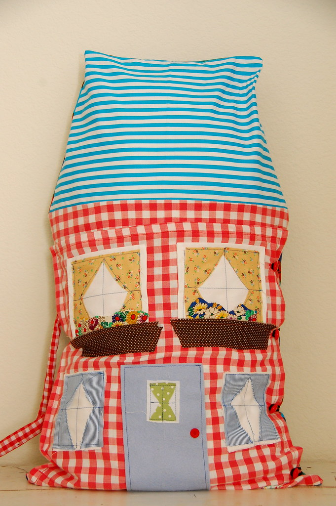 another dollhouse pillow
