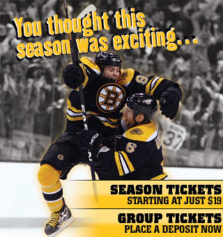 Bruins ticket scam by you.