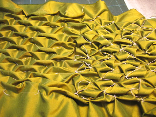 manipulation fabric - backside