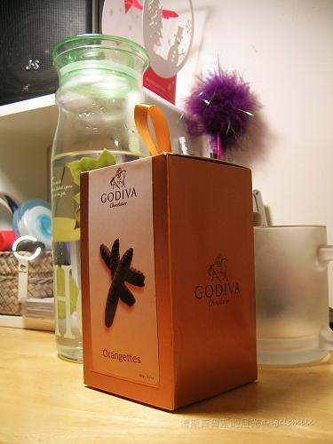 Godiva orangette