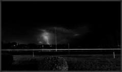 Lightning in Black n White (Week 26) (LoneStarNorth) Tags: blackandwhite bw cloud black monochrome minnesota night clouds canon blackwhite nightshot centercity lightning ultrawide thunderstorms chisago canoneos400d chisagocounty minnesotathunderstorms cloudsstormssunsetssunrises
