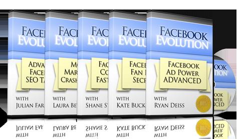 『Facebook Evolution』(Facebookエボリューション)の商品イメージ画像